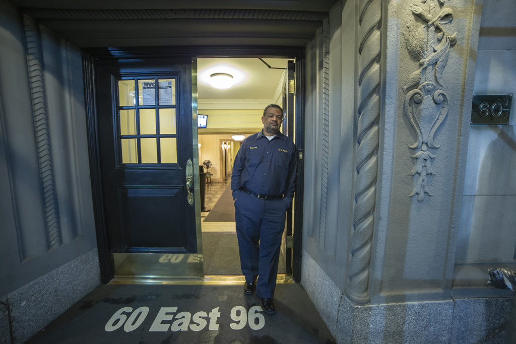 New York City Photographer Doorman - 60 East 96 Street